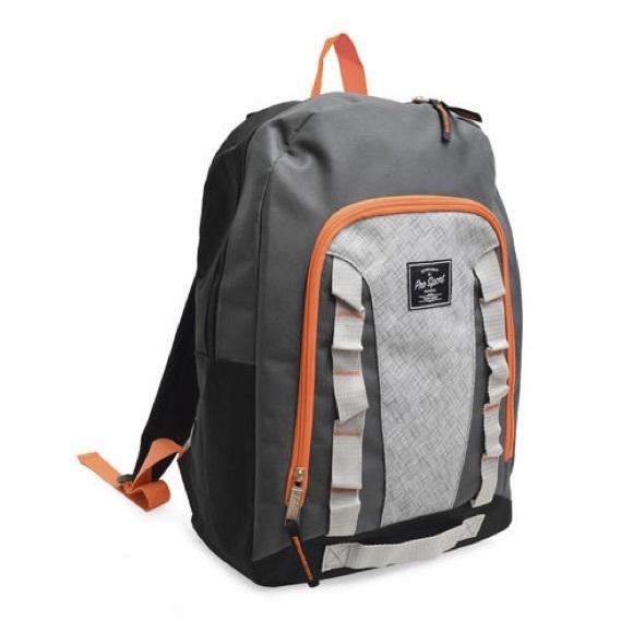 """pro sport Other - 17"""" ProSport Backpack gray black orange"""